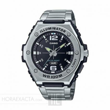 Reloj Casio Collection Analógico Negro Armis MWA-100HD-1AVEF
