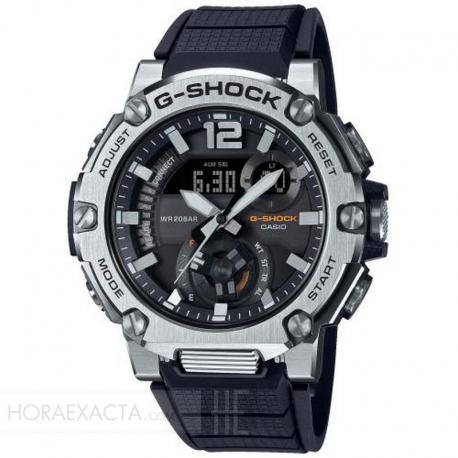Reloj Casio G-Shock Analógico Digital G-Steel Negro Resina Negra Bluetooth. GST-B300S-1AER