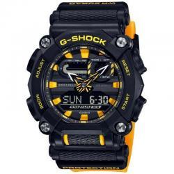 Reloj Casio G-Shock Negro Amarillo Analógico Digital GA-900A-1A9ER