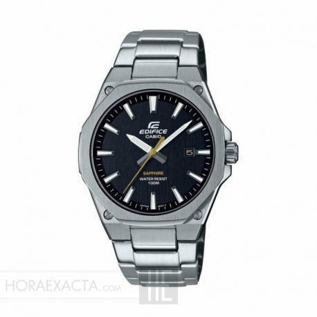 Reloj Casio Edifice Negro Armis Zafiro EFR-S108D-1AVUEF