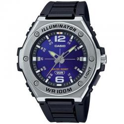 Reloj Casio Collection Analógico Azul Caucho MWA-100H-2AVEF