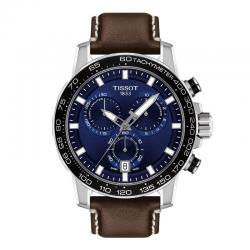 TISSOT SUPERSPORT CHRONO Azul Piel Marrón. T125.617.16.041.00