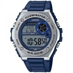 Reloj Casio Collection Digital Resina Azul MWD-100H-2AVEF