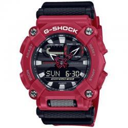 Reloj Casio G-Shock Negro Rojo Analógico Digital GA-900-4AER