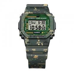 Reloj Casio G-Shock Verde Estampado Placa de Circuitos DW-5600CC-3ER
