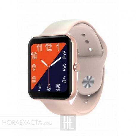Reloj Duward Smart Rectangular Silicona Rosa DSW002.08