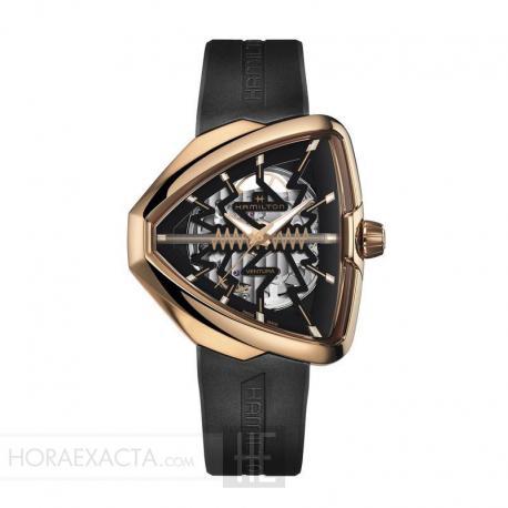 Reloj Hamilton Ventura Elvis80 Skeleton Auto. H24525331