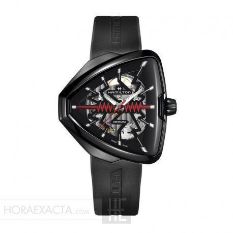 Reloj Hamilton Ventura Elvis80 Skeleton Auto. H24535331