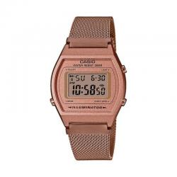 Reloj Casio Collection Digital Milanesa Oro Rosa B640WMR-5AEF