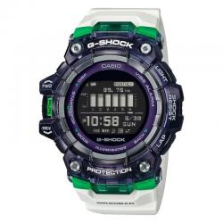 Reloj Casio G-Shock Bluetooth® Smart Blanco Lila Verde GBD-100SM-1A7ER