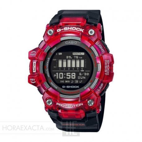 Reloj Casio G-Shock Bluetooth® Smart Negro Rojo GBD-100SM-4A1ER