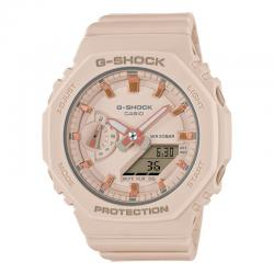 Reloj Casio G-Shock Crema Analógico Digital GMA-S2100-4AER