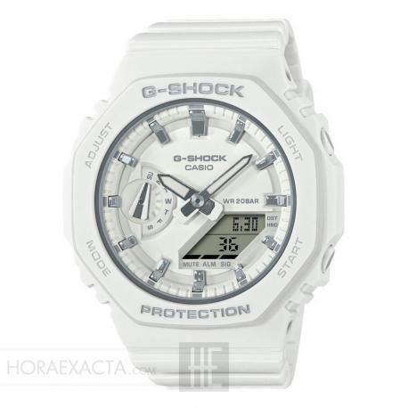 Reloj Casio G-Shock Blanco Analógico Digital GMA-S2100-7AER