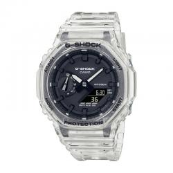 Reloj Casio G-Shock Analógico Digital Transparente GA-2100SKE-7AER