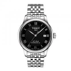 Reloj Tissot le Locle Negro Automático Armis Powermatic 80