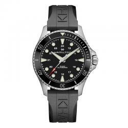 Reloj Hamilton Khaki Navy Scuba Auto Negro Caucho 43 mm. H82515330