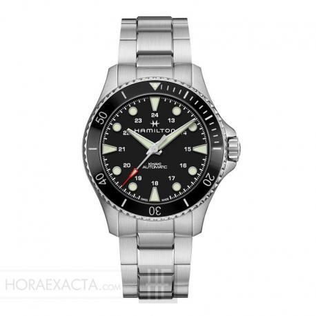 Reloj Hamilton Khaki Navy Scuba Auto Negro Armis 43 mm. H82515130