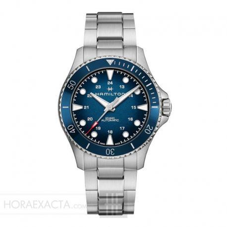 Reloj Hamilton Khaki Navy Scuba Auto Azul Armis 43 mm. H82505140