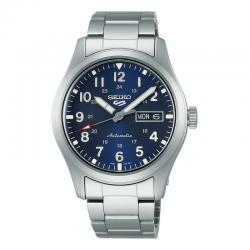 Reloj Seiko 5 Sports Automático Azul Armis 40 mm. SRPG31K1