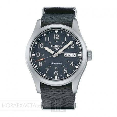 Reloj Seiko 5 Sports Automático Gris Nato 40 mm. SRPG31K1