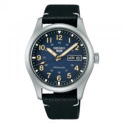 Reloj Seiko 5 Sports Field Military azul 40 mm. SRPG39K1