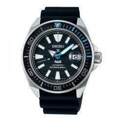 Reloj Seiko Prospex King Samurai Padi Negro Caucho. SRPG21K1