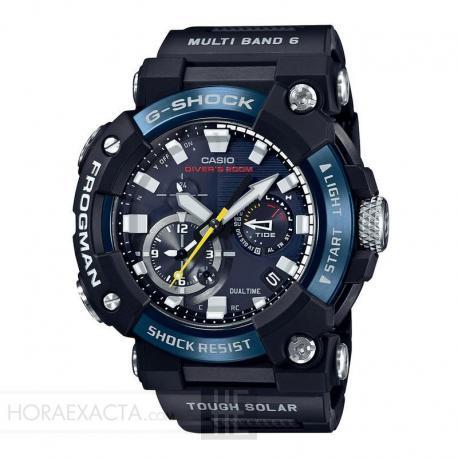 Reloj Casio G-Shock Frogman Armis Azul y Negro. GWF-A1000C-1AER