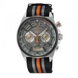 Reloj Seiko Neo Sports Crono Grís Nato SSB403P1
