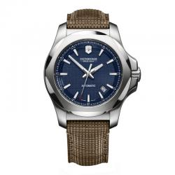 Reloj Victorinox INOX Mechanical Azul Wood Strap 241834