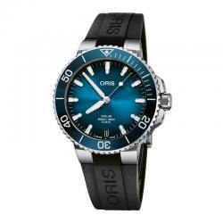 Reloj Oris Aquis Date Calibre 400 Azul Caucho 41 mm