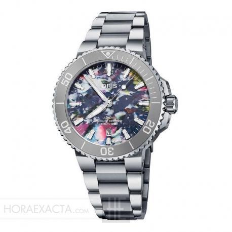 Reloj Oris Aquis Upcycle 41,5 mm