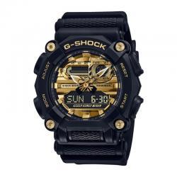 Reloj Casio G-Shock Negro Dorado Analógico Digital GA-900AG-1AER