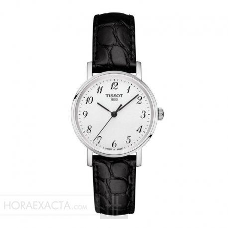 Reloj Tissot Everytime Small Blanco Piel 30 mm. T109.210.16.032.00