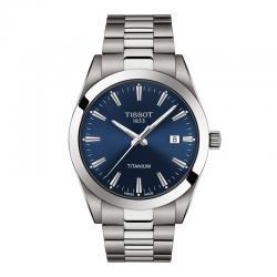 Reloj Tissot Gentleman Azul Armis Titanium 40 mm. T127.410.44.041.00