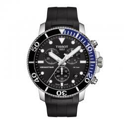 Reloj Tissot 1000 QUARTZ CHRONOGRAPH Caucho negro. T120.417.17.051.02