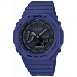 Reloj Casio G-Shock Analógico Digital Azul GA-2100-2AER