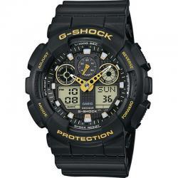 Reloj Casio G-Shock Negro Dorado Analógico Digital GA-100GBX-1A9ER