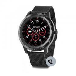Reloj Duward Smart Redondo Milanesa Negra. Función Teléfono. DSW003.32