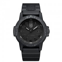Reloj Luminox Leatherback Sea Turtle Giant All Black Silicona 44 mm.