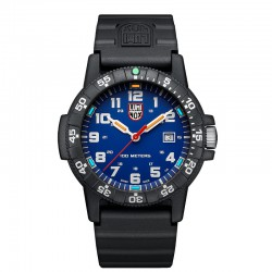 Reloj Luminox Leatherback Sea Turtle Giant Azul Caucho 44 mm.