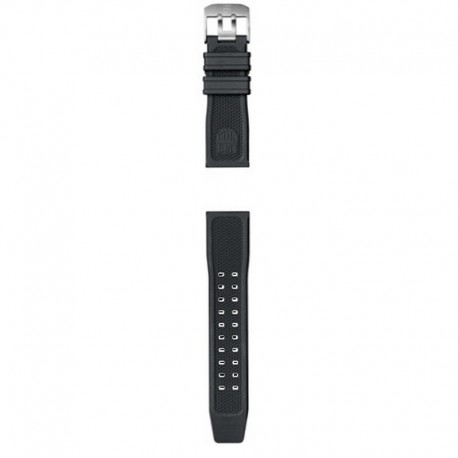 Correa Luminox Caucho negro 24 mm 3500 Series.