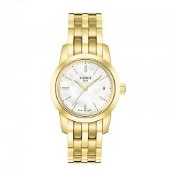 Reloj Tissot Classic Dream Lady PVD Oro Amarillo Nacar Blanco Armis