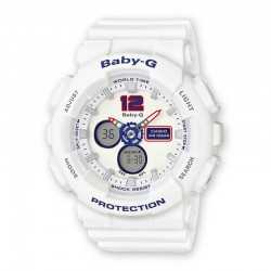 Reloj Casio Baby-G Analogico Digital Blanco BA-120TR-7BER