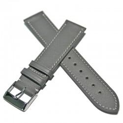 Correa Ferrer piel gris Elegante 20 mm